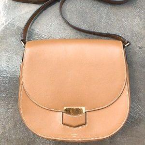 Celine Trotteur smooth leather camel Medium size